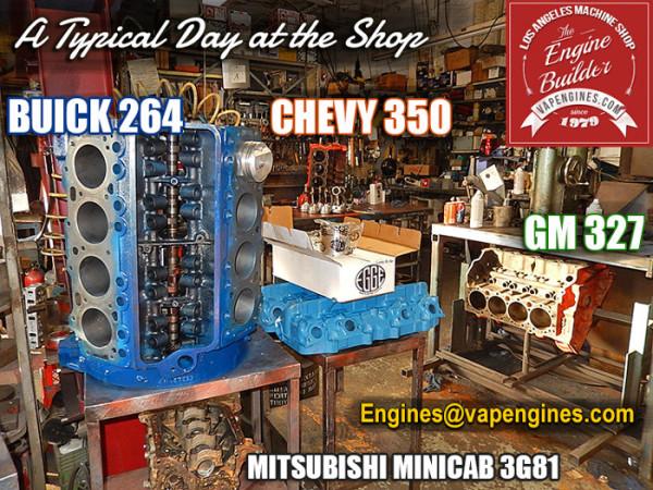 Los Angeles Engine Builder Shop