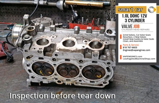 Before Smart 1.0 valve job