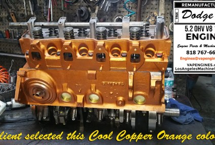 64 Dodge 318 Engine Rebuild Service