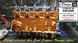 bolt on heads for dodge 318 engine