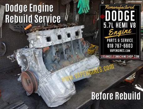 Before engine rebuild on Dodge 5.7 engine