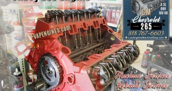 Remanufactured GM Chevy 265 Engine