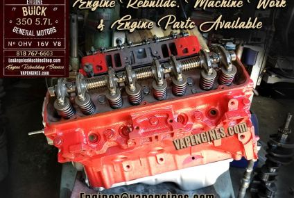 Remanufactured 69 Buick 350 Engine