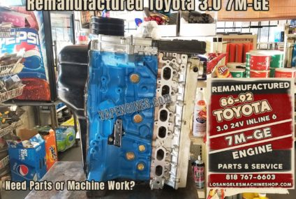 Toyota 7M-GE 3.0 Engine Rebuild