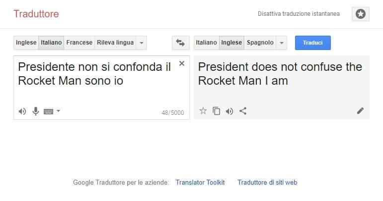 Traduttore spagnolo ù