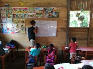 Scuola della tribù Yaguas
