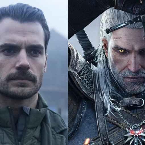 Geralt sarà Henry Cavill