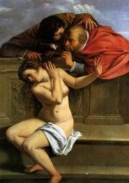 Susanna e i Vecchioni, Artemisia Gentileschi, 1610