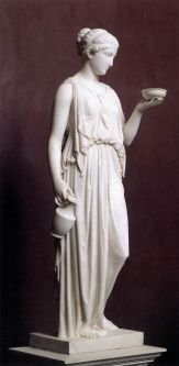 Ebe, 1806, marmo, Bertel Thorvaldsen. Thorvaldsens Museum.