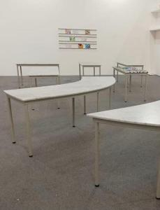 I tavoli di Artissima Junior