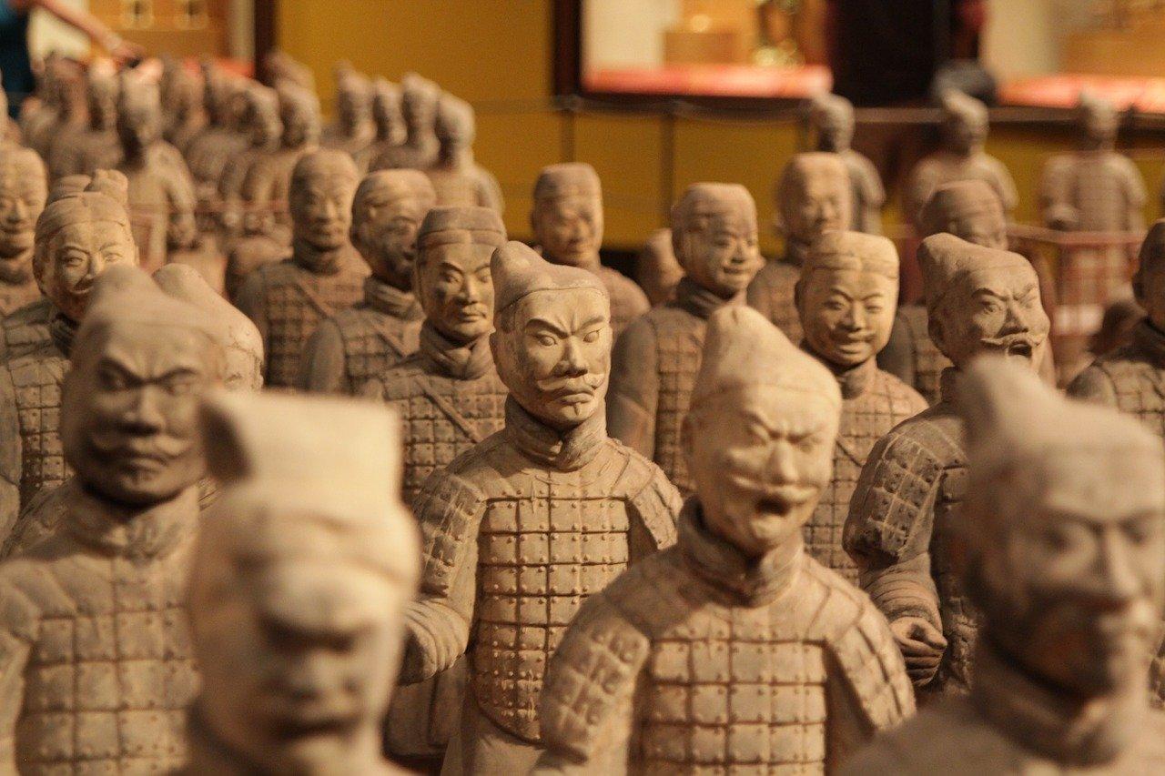 esercito di terracotta