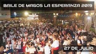 Baile de magos de La Esperanza 2019