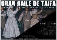 Baile de Taifas San Isidro