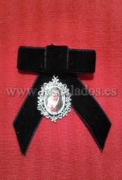 Broche medalla Virgen de los Dolores
