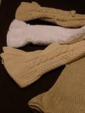 Polainas de lana variadas