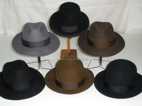 Sombreros varios de hombre