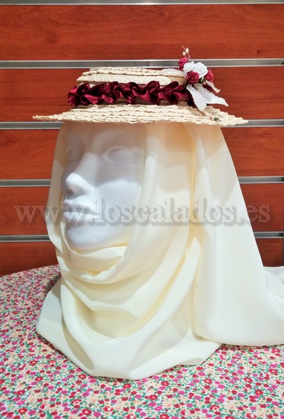 Sombrero del traje de La Palma