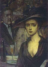 An Unknown Lady – Alexander Blok, Ilya Glazunov and Alec Vagapov