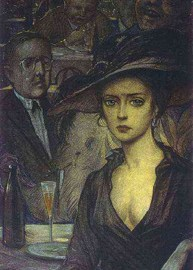 An Unknown Lady – Alexander Blok, Ilya Glazunov and Alec Vagapov