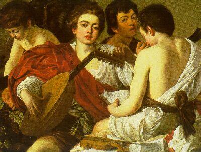 Caravaggio - The Musicians (1595)