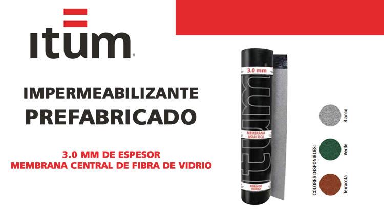 IMPERMEABILIZANTE PREFABRICADO ITUM 3.0 FV