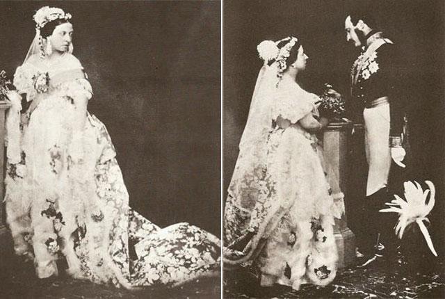 Vestido de novia de la reina Victoria