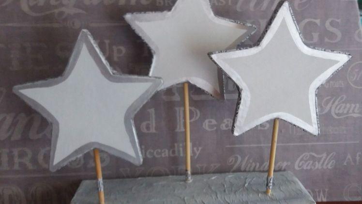 DIY…Decoración con estrellas