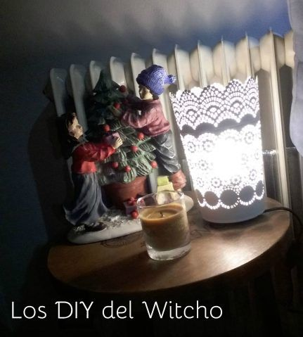 DIY…Como hacer una lámpara por muy poco dinero