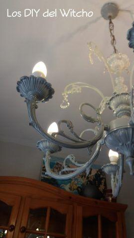 Restauración de una lámpara de araña para el comedor (2ª parte)