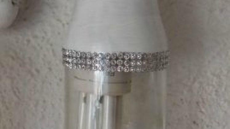 DIY…Cómo hacer una lámpara con un bote de cristal