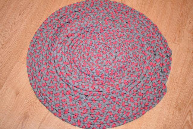 DIY...Cómo hacer una alfombra de trapillo
