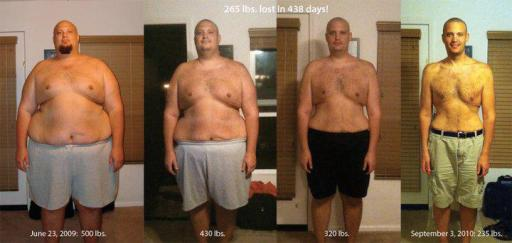 Matthew Shack's Weightloss