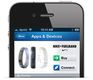 Nike+ FuelBand Lose It! Integration