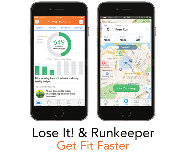 Lose It! Runkeeper
