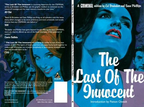 Criminal Last of the Innocent Ed Brubaker Sean Phillips