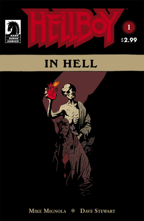 Hellboy in Hell Mike Mignola