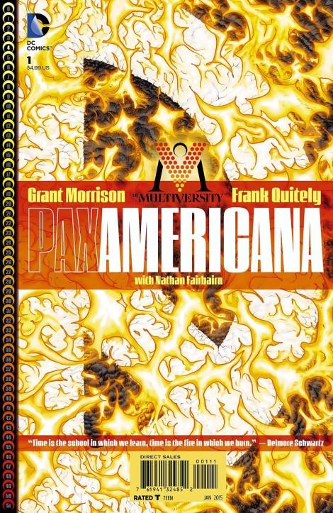 Multiversity Pax Americana Grant Morrison Frank Quitely