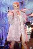 Miley Cyrus at the Clive Davis Pre-Grammys Gala 2014 performing fashion