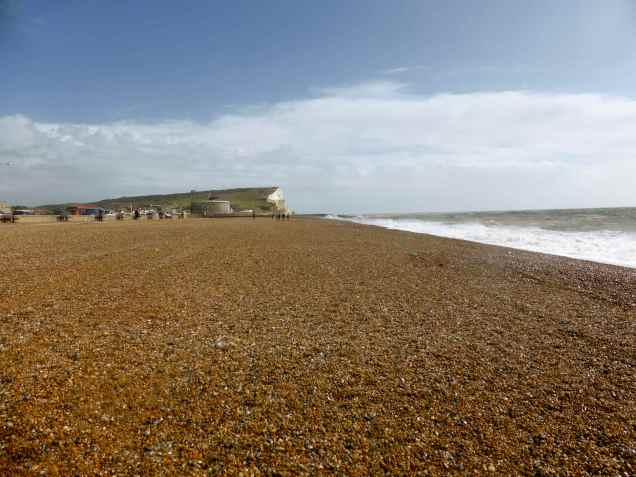While Jim cooked lunch for us all, we went for a walk along Seaford beach.