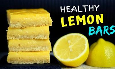 Healthy Lemon Bars