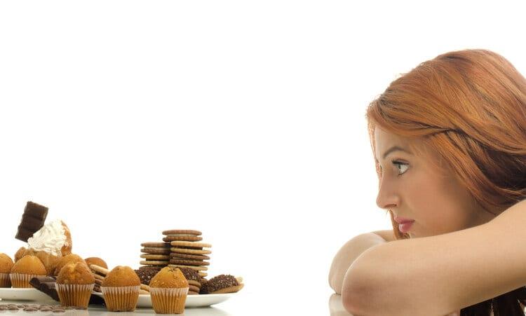 Avoid Bing Eating Woman Looking at Cupcakes