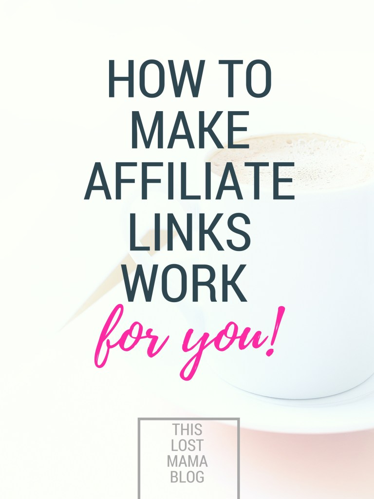 how to place an affiliate link with shareasale
