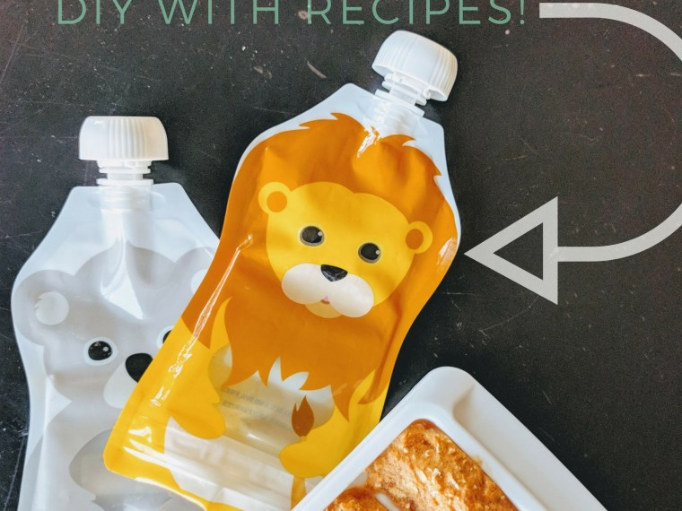 baby food meal prep pouches