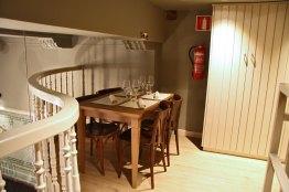 Restaurante Los Fueros en el Casco Viejo de Bilbao