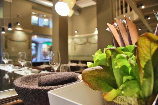 Servicios y facilidades de restaurante Los Fueros Bilbao