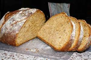 Spent-grain bread