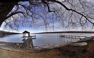Glenora Point on Seneca Lake
