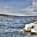 Seneca Lake in winter.