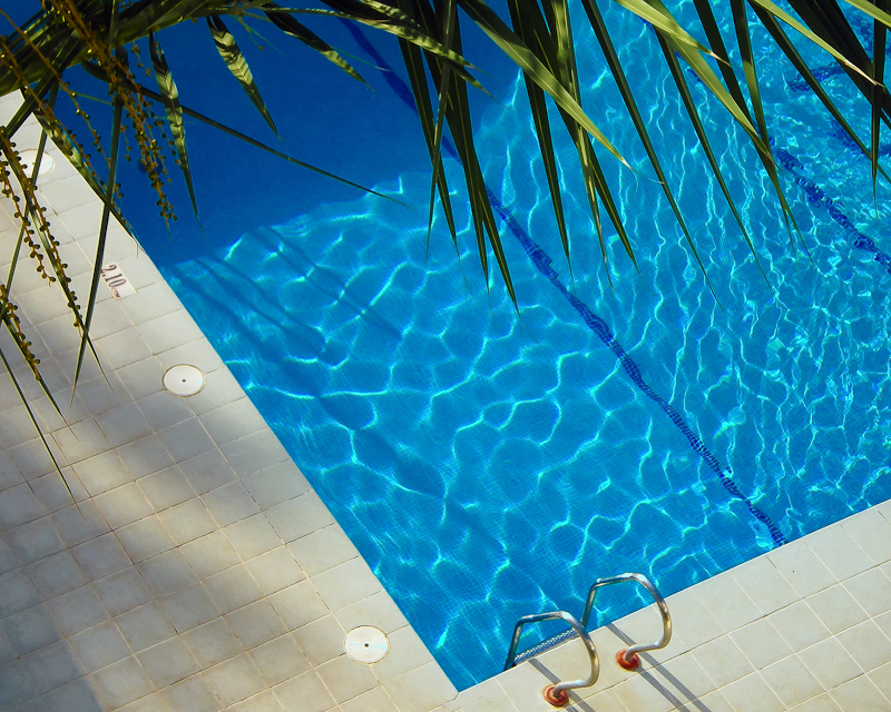 An inviting pool