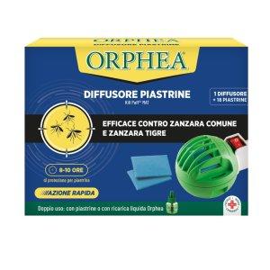 Orphea Diffusore Piastrine Protezione Zanzare